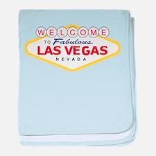 Las Vegas baby blanket