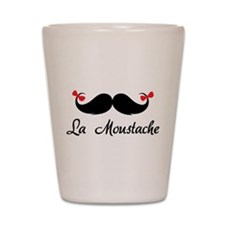 La moustache Shot Glass