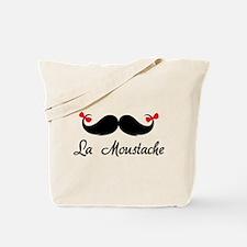 La moustache Tote Bag