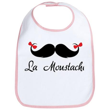 La moustache Bib
