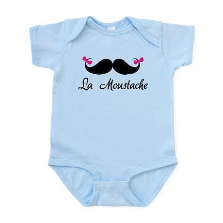 La moustache Infant Bodysuit