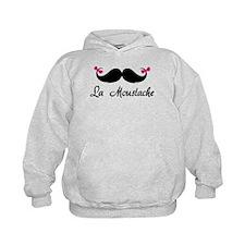 La moustache Hoodie