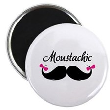 "Moustachic 2.25"" Magnet (10 pack)"