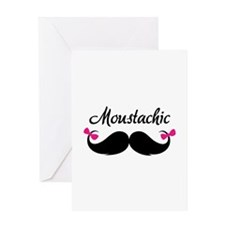 Moustachic Greeting Card