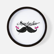 Moustachic Wall Clock