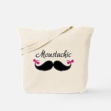 Moustachic Tote Bag