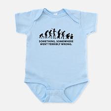 Evolution went wrong Infant Bodysuit