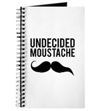 Undecided moustache Journal