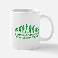 Evolution went wrong Mug