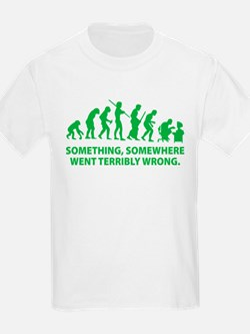 Evolution went wrong T-Shirt