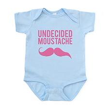 Undecided moustache Infant Bodysuit