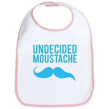 Undecided moustache Bib