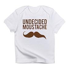 Undecided moustache Infant T-Shirt