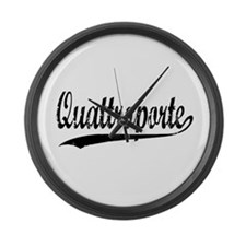 Quattroporte Large Wall Clock