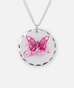 Survivor - Breast Cancer Necklace