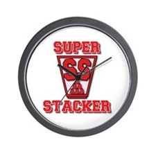 Super Stacker Wall Clock