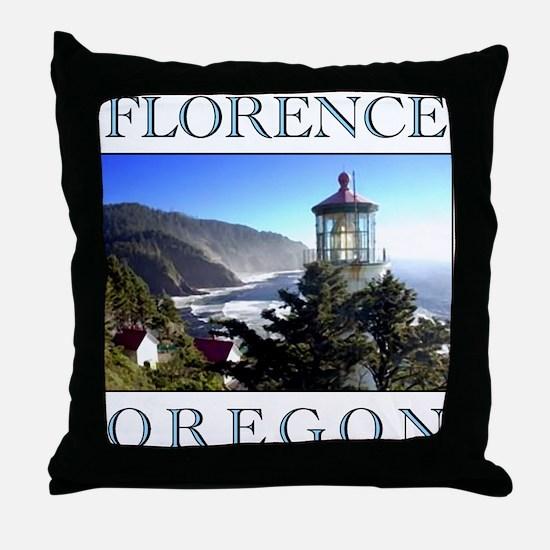 Cute Beaches Throw Pillow