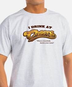 'I Drink At Cheers' T-Shirt