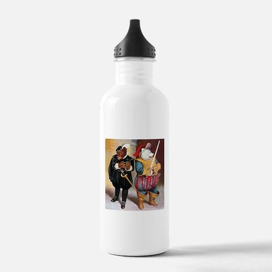 Roosevelt Bears Do Shakespeare Water Bottle