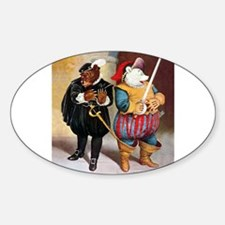 Roosevelt Bears Do Shakespeare Sticker (Oval)