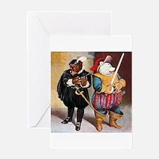 Roosevelt Bears Do Shakespeare Greeting Card