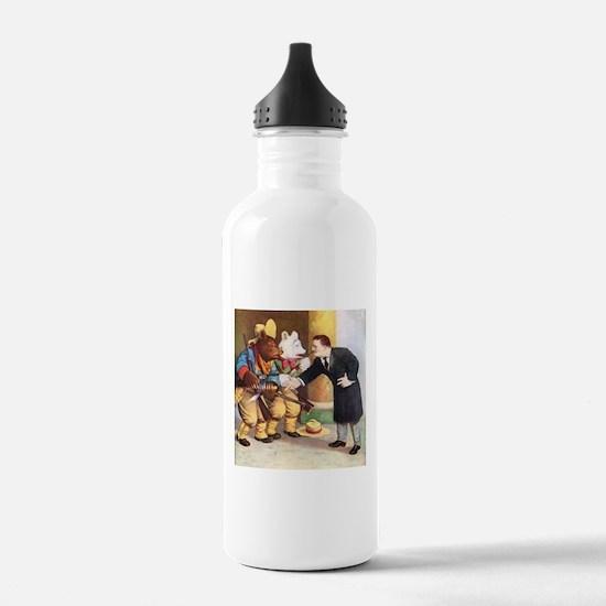 Roosevelt Bears Meet Teddy Roosevelt Water Bottle
