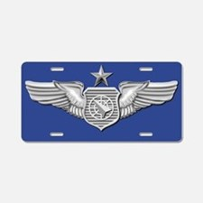 SR Air Weapons Officer Blue License Plate