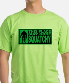 Gone Squatchy - Finding Bigfoot T-Shirt