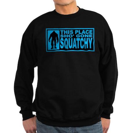 Gone Squatchy - Finding Bigfoot Sweatshirt (dark)