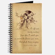 Girl in a Garden Journal