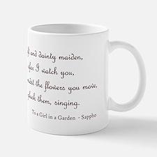 Girl in a Garden Mug