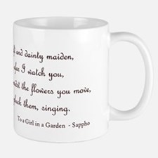 Girl in a Garden Small Small Mug