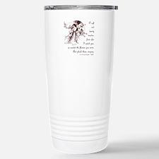 Girl in a Garden Travel Mug