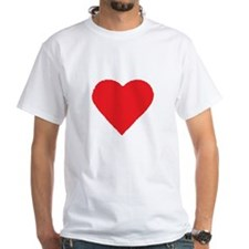 Heart Shirt White Double-Sided T-Shirt