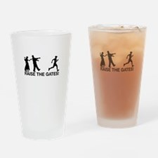 Raise the Gates Zombie Runner Drinking Glass