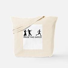 Raise the Gates Zombie Runner Tote Bag