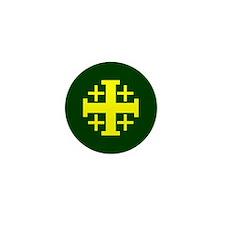 Jerusalem Cross Mini Button