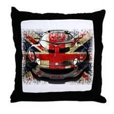 British Elise Throw Pillow