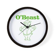 O'Beast Wall Clock