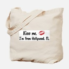 Kiss Me: Hollywood Tote Bag