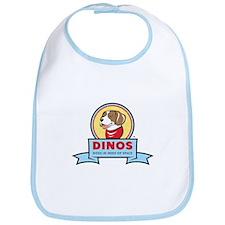 DINOS Logo Bib