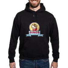 DINOS Logo Hoodie (dark)