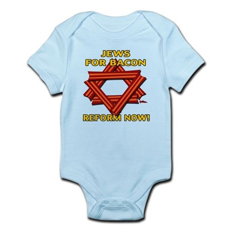 BACON REFORM NOW! Infant Bodysuit