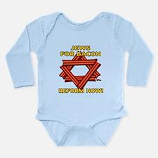 BACON REFORM NOW! Long Sleeve Infant Bodysuit
