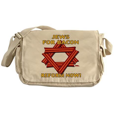 BACON REFORM NOW! Messenger Bag