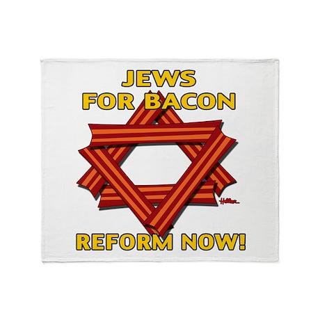 BACON REFORM NOW! Throw Blanket