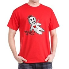 Anti Valentine Voodoo Doll T-Shirt