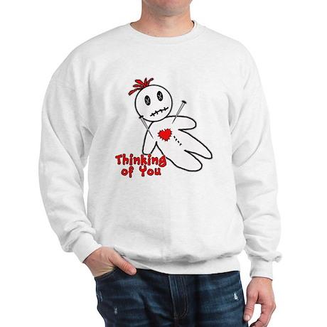 Anti Valentine Voodoo Doll Sweatshirt