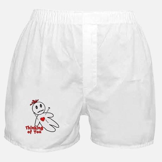 Anti Valentine Voodoo Doll Boxer Shorts