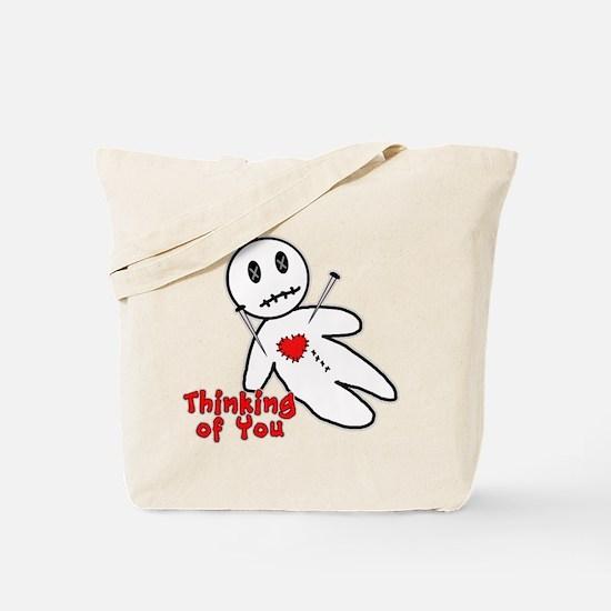 Anti Valentine Voodoo Doll Tote Bag